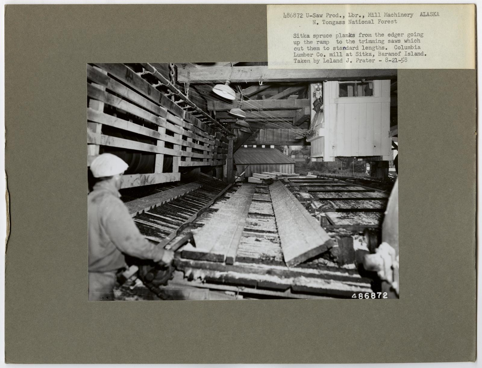 Sawmill Interiors - Alaska