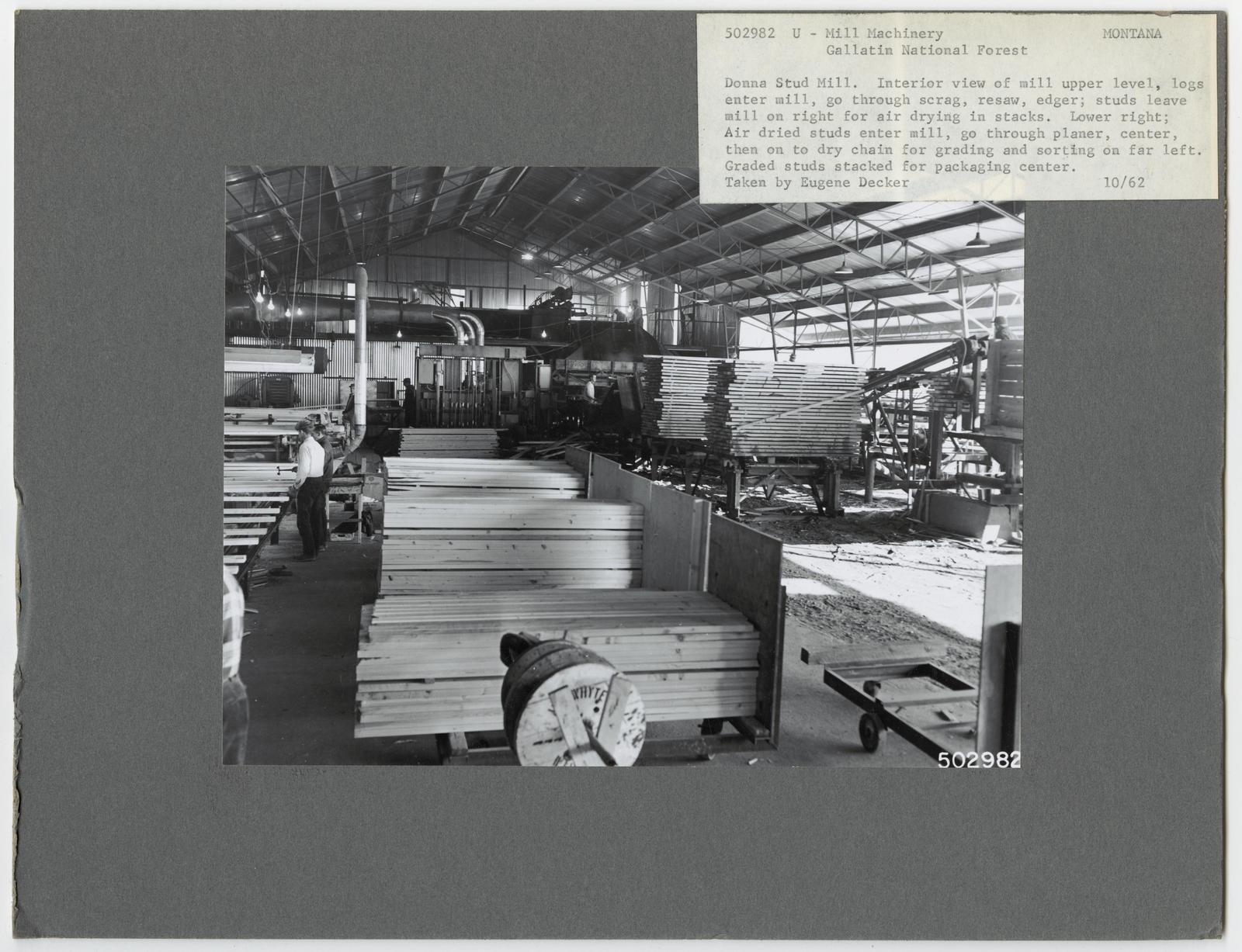 Sawmill Interiors - Montana