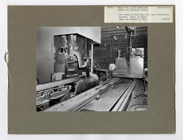 Sawmill Interiors - Pennsylvania