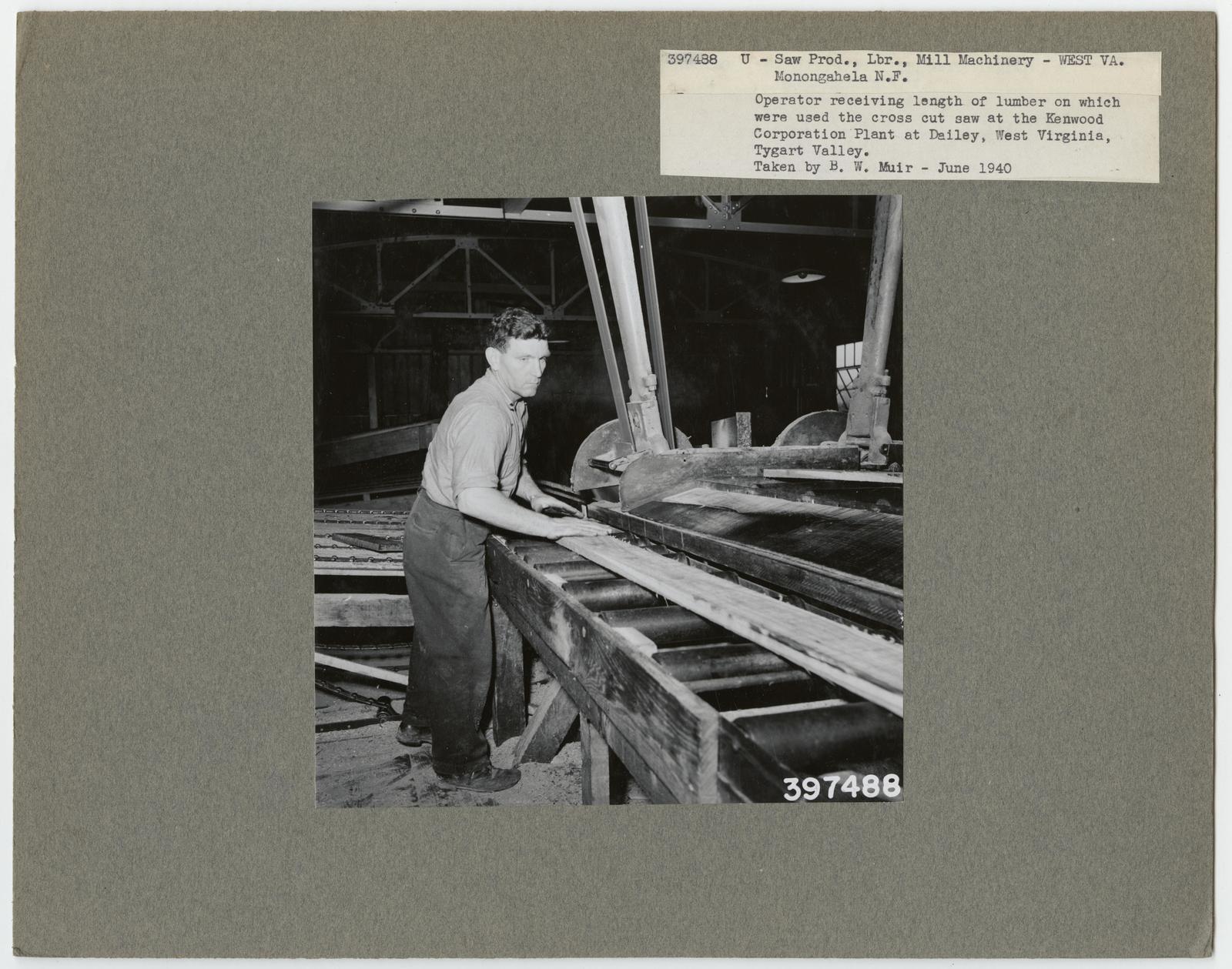 Sawmill Interiors - West Virginia