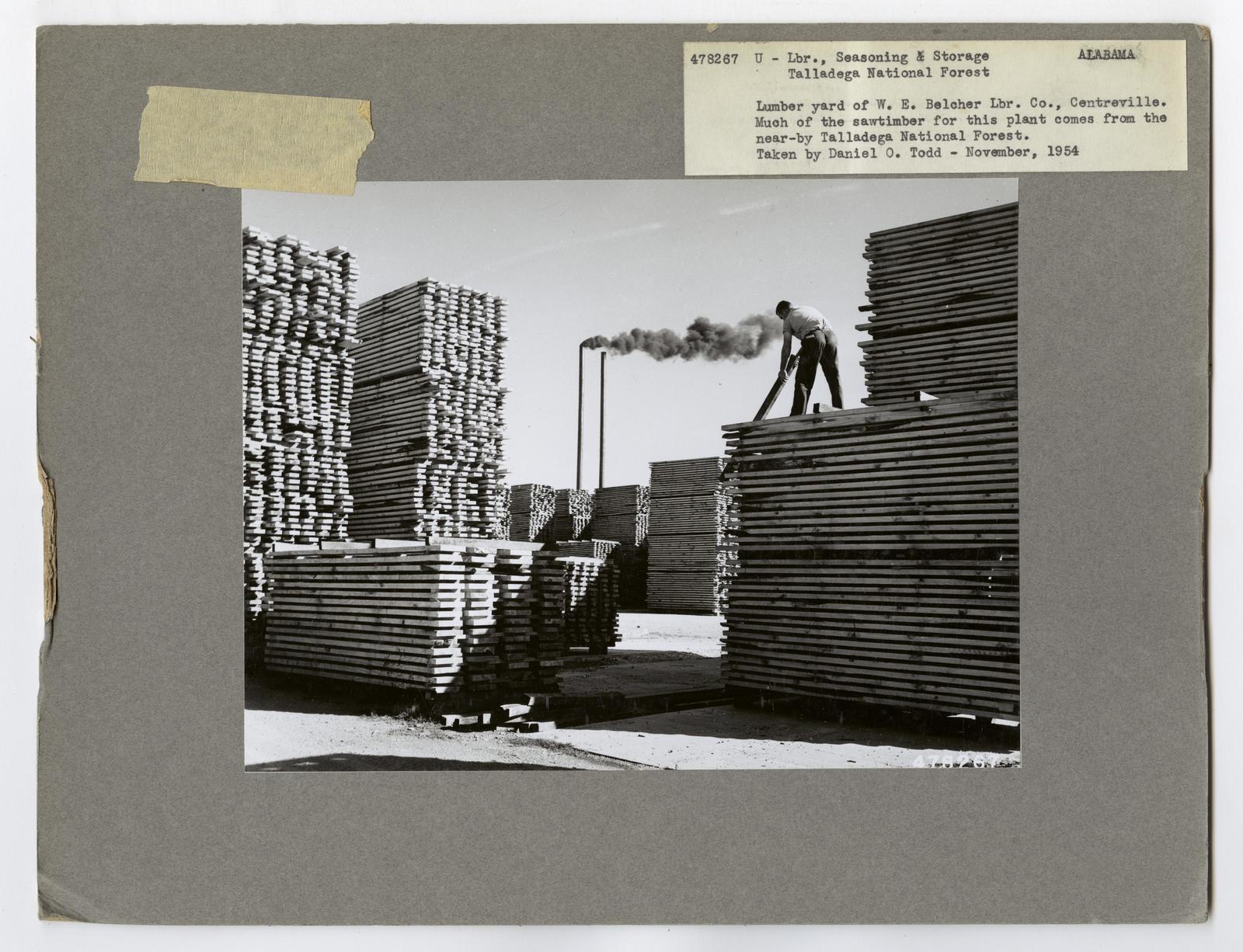 Seasoning and Shipping Lumber - Alabama