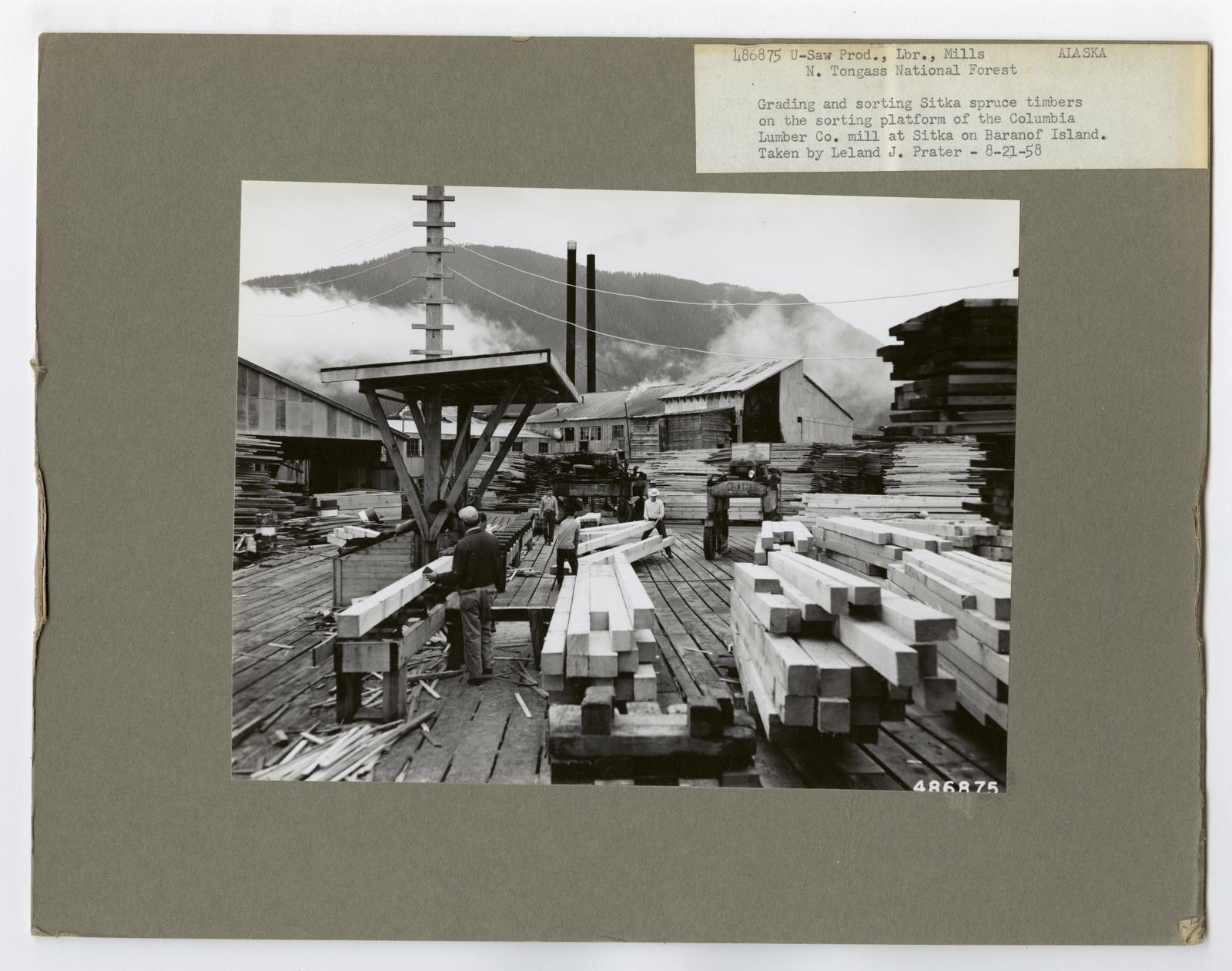 Seasoning and Shipping Lumber - Alaska