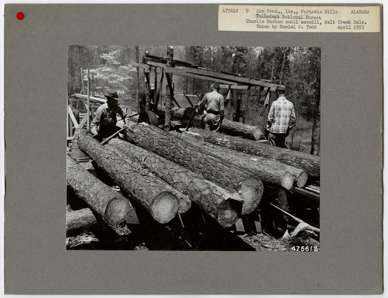 Small Sawmills - Alabama