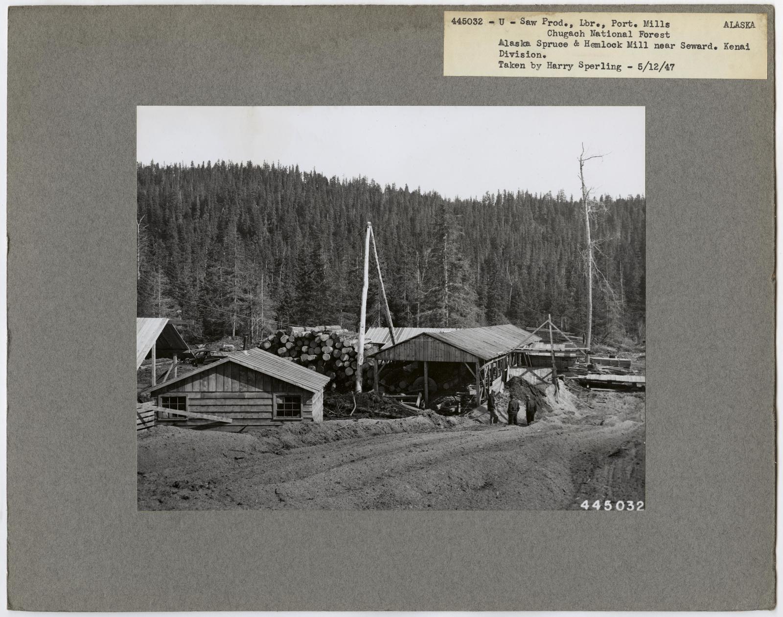 Small Sawmills - Alaska