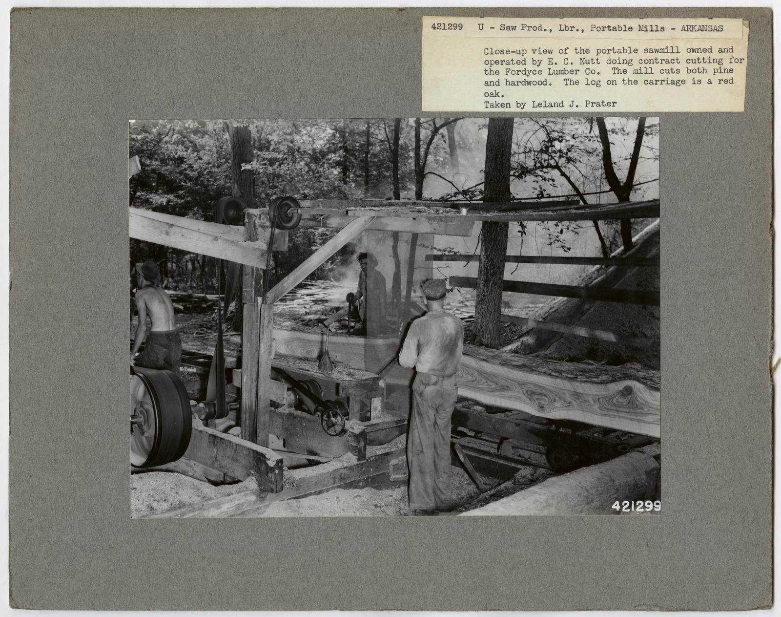 Small Sawmills - Arkansas