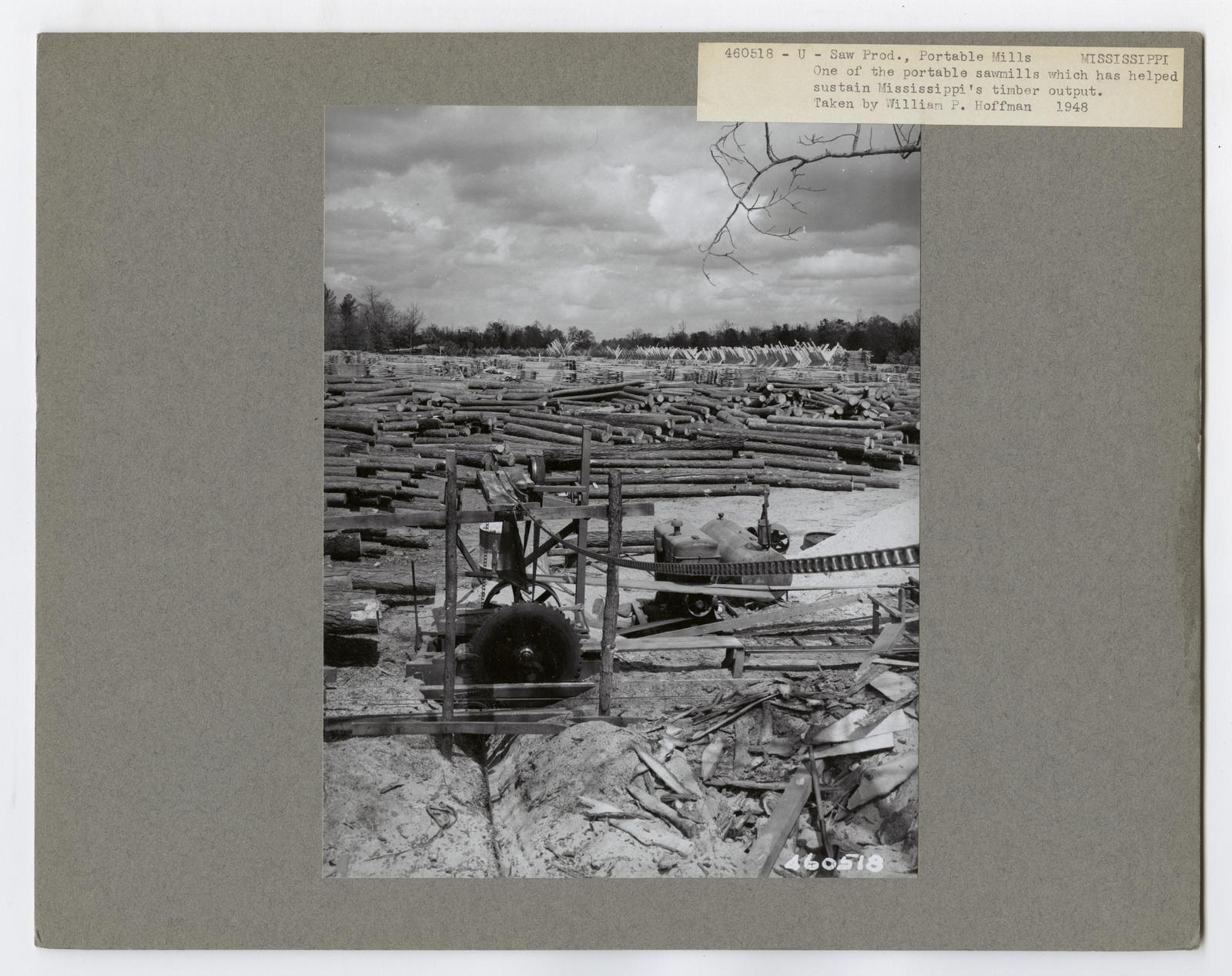 Small Sawmills - Mississippi