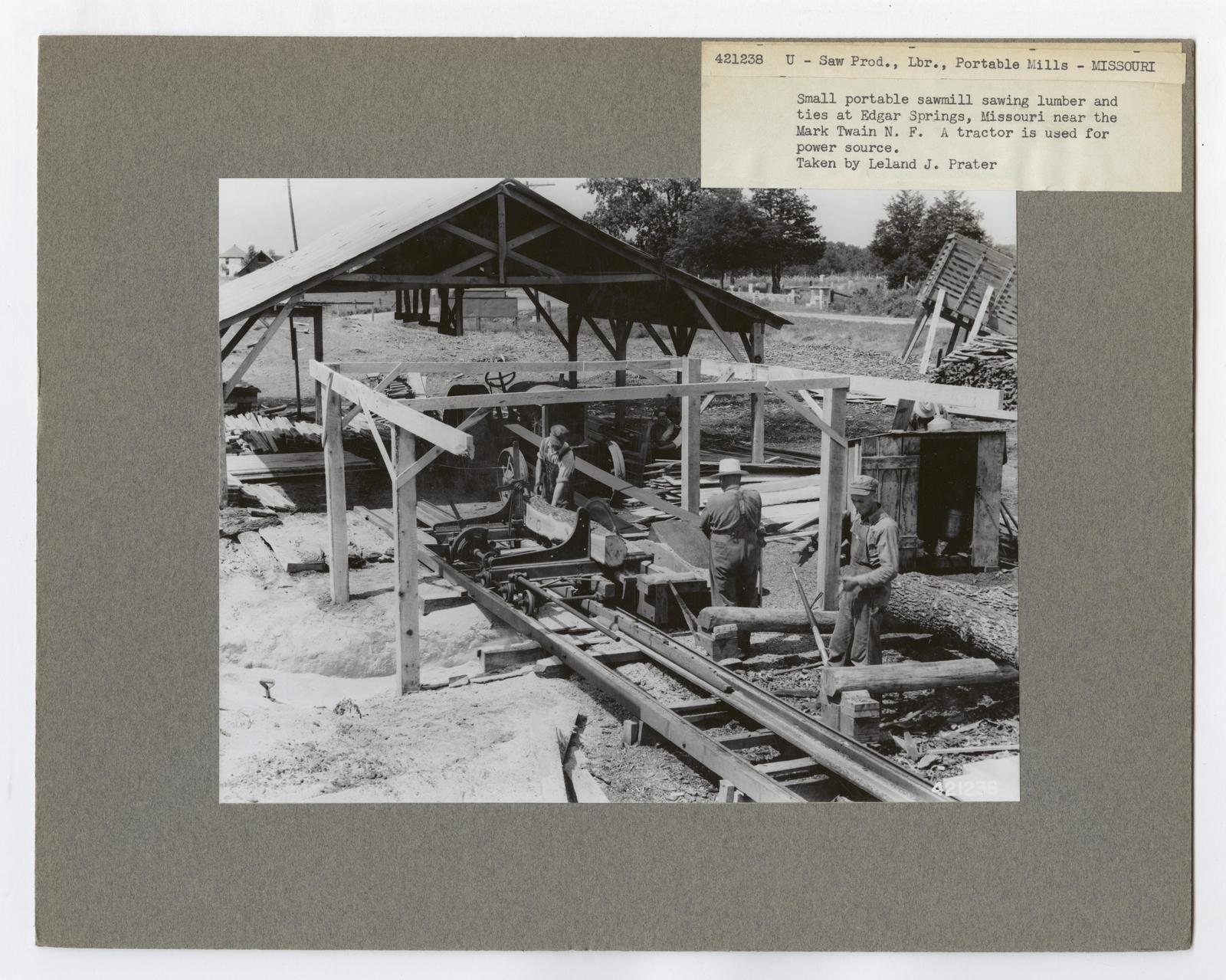 Small Sawmills - Missouri