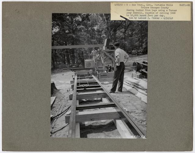 Small Sawmills (mold) - Maryland