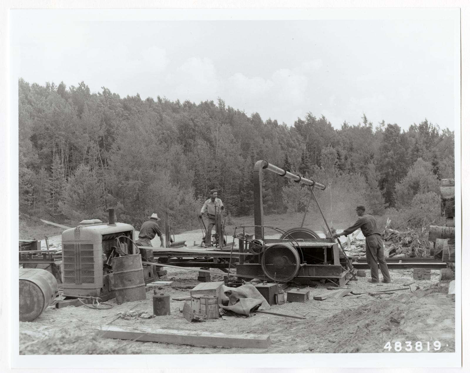 Small Sawmills (mold) - Wisconsin