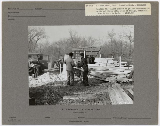 Small Sawmills - Nebraska