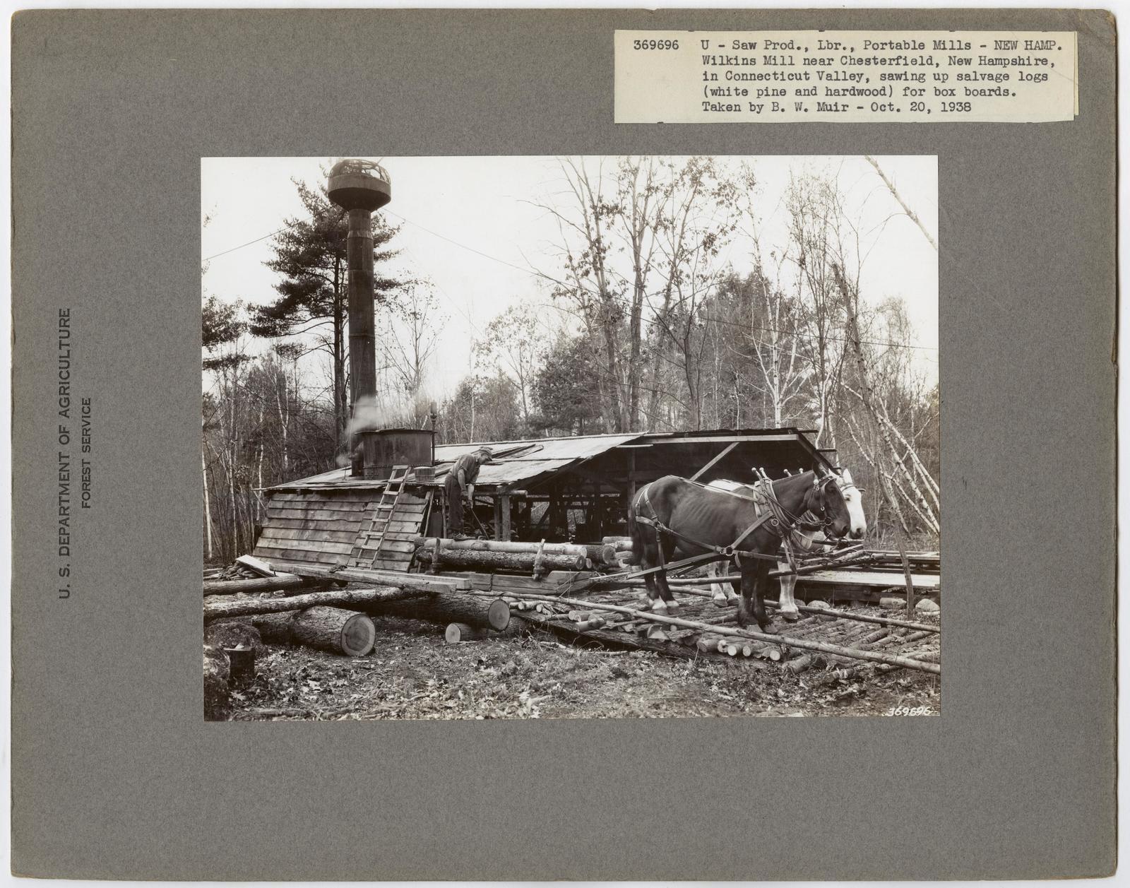 Small Sawmills - New Hampshire
