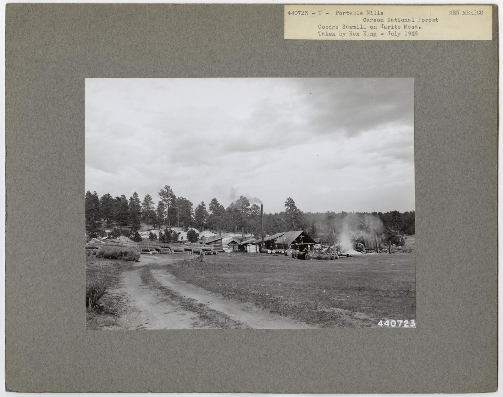 Small Sawmills - New Mexico