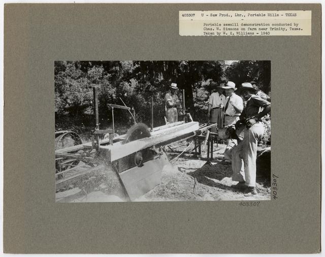 Small Sawmills - Texas