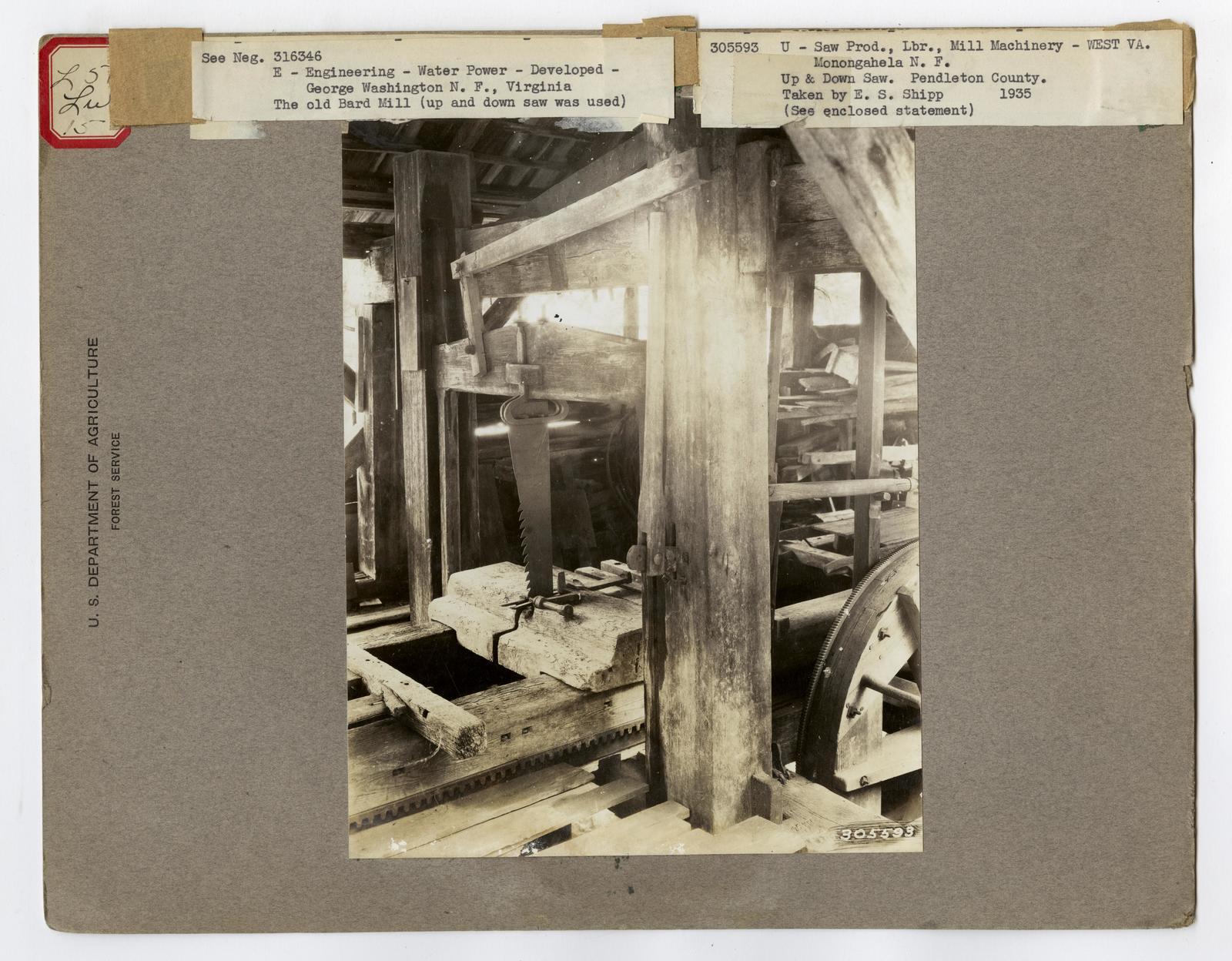 Small Sawmills - Virginia