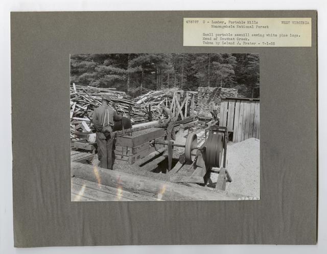 Small Sawmills - West Virginia