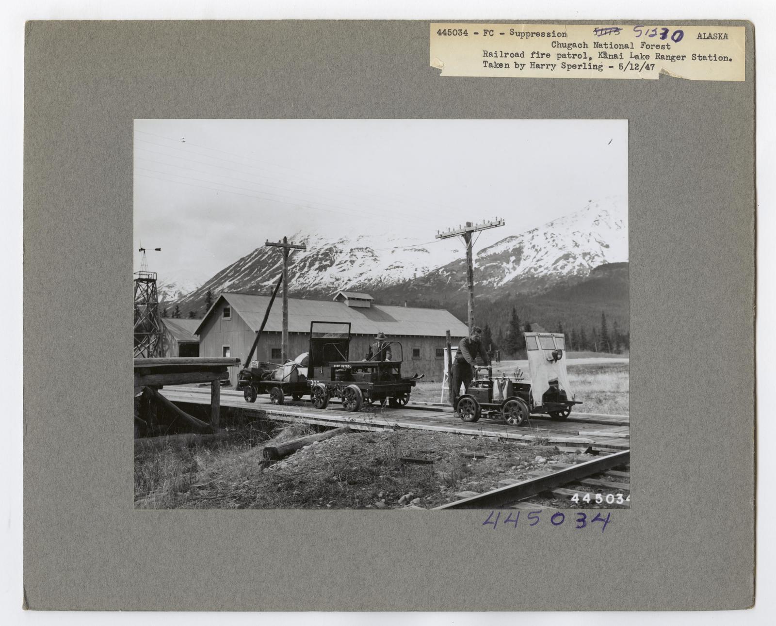 Transportation to Fires - Alaska