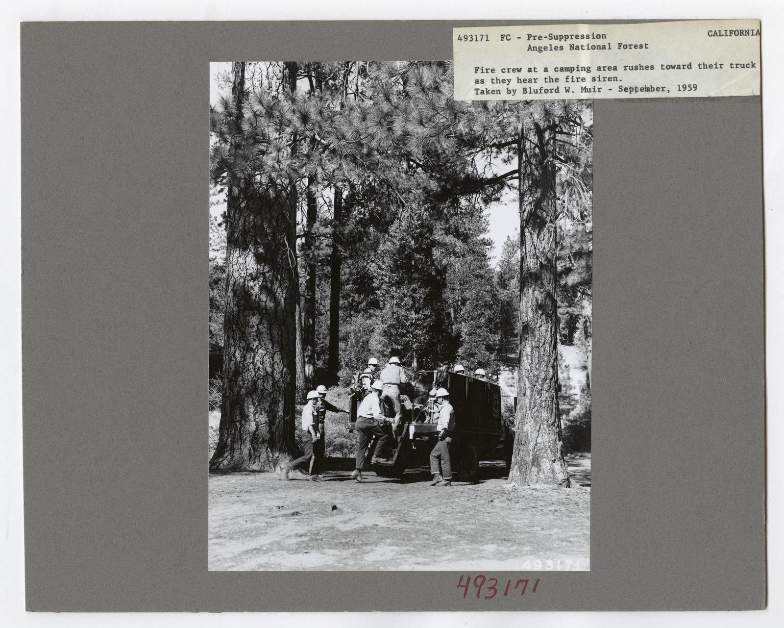 Transportation to Fires - California