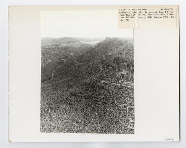 Volcanoes - After Mount St. Helens Eruption - Washington