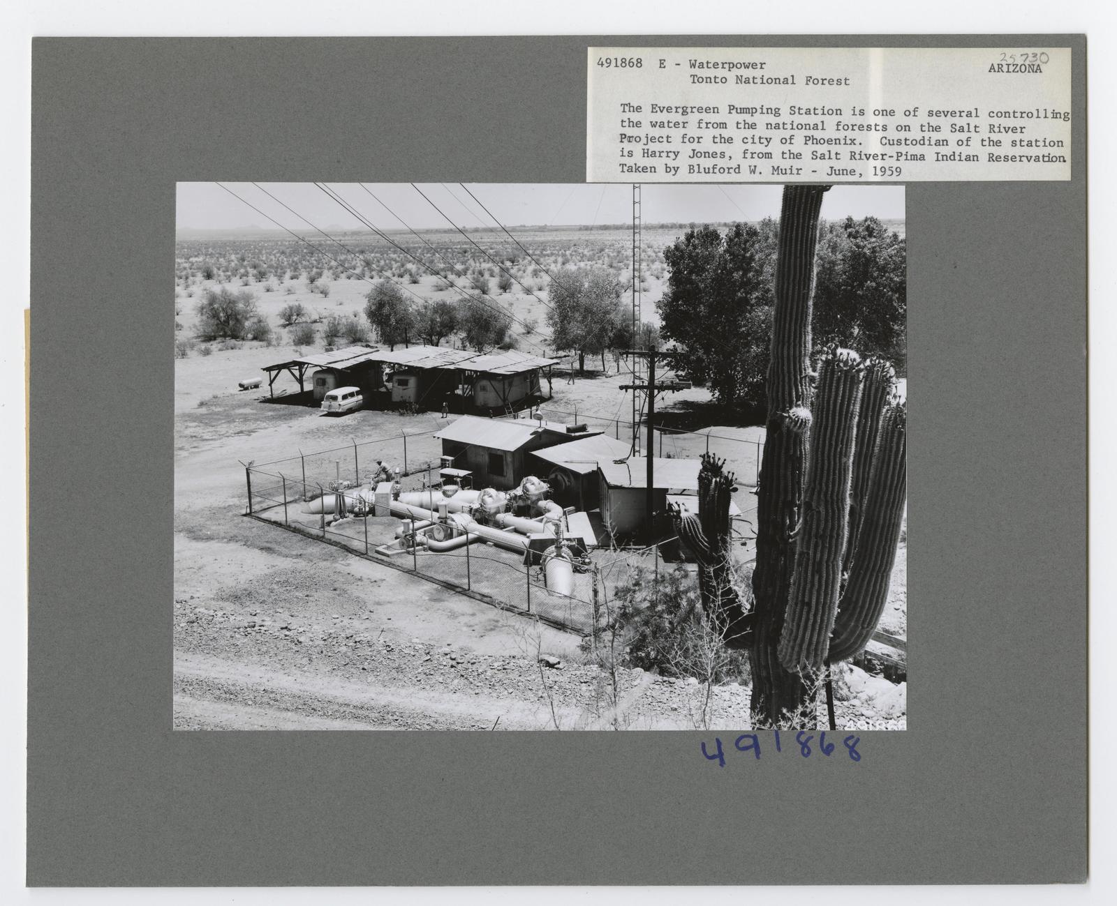 Water Use: Electricity - Arizona