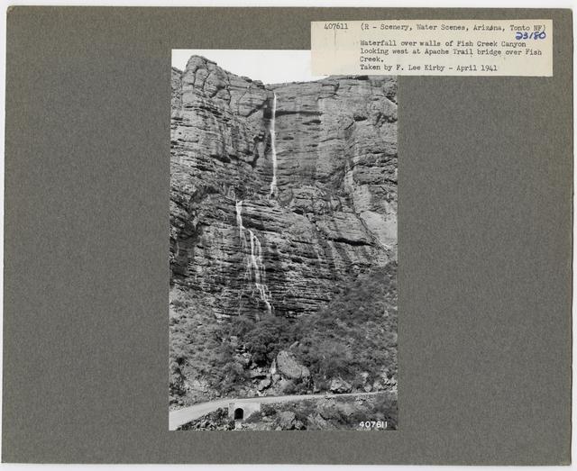 Waterfall Scenes - Arizona