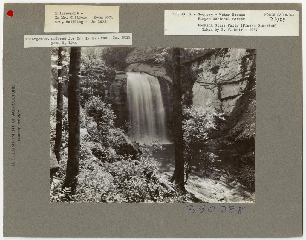 Waterfall Scenes - North Carolina