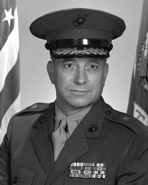 BGEN Edwin J. Godfrey, USMC (covered)