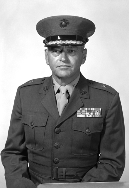 BGEN James R. Van Den Elzen, USMC (covered)