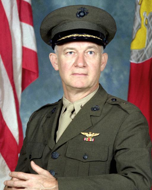 BGEN William H. Gossell, USMCR (covered)