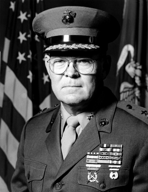 MGEN Ernest C. Cheatham Jr., USMC (covered)