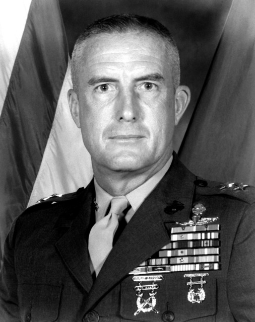 MGEN Wesley H. Rice, USMC (uncovered)