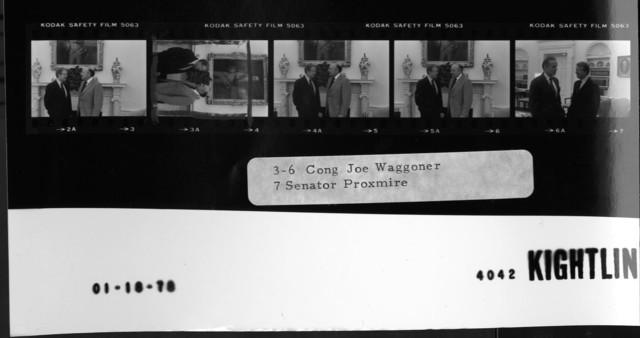 3-6 Cong. Joe Waggoner; 7 Senator Proxmire