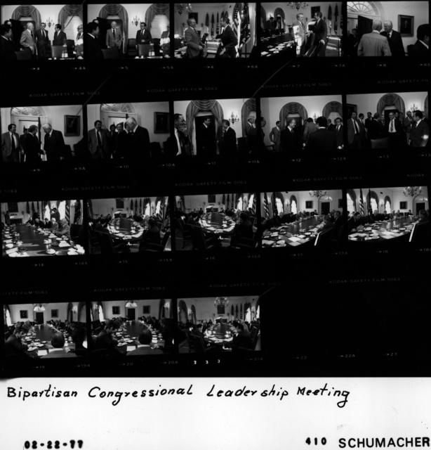 Bipartisan Congressional Leadership Meeting
