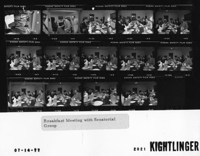 Breakfast Meeting with Senatorial Group
