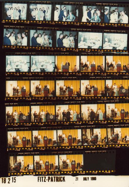 Chefs relaxing, Fr. 11-14; Jimmy Carter - Reception for Alaskan Lands Legislation Interest Group with John Denver, Fr. 15-35