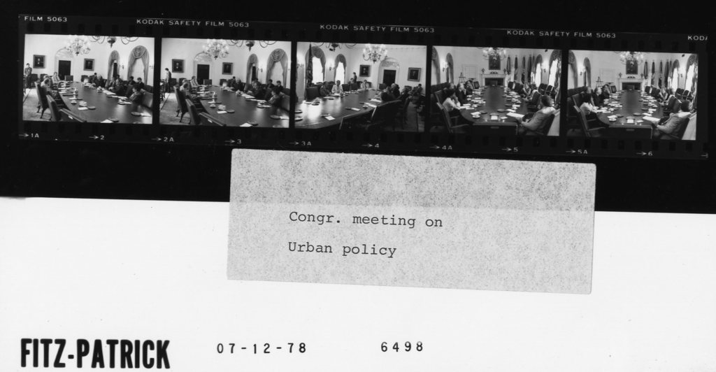Congr. meeting on Urban Policy
