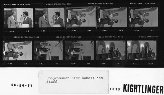 Congressman Nick Rahall and Staff