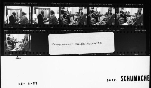 Congressman Ralph Metcalfe