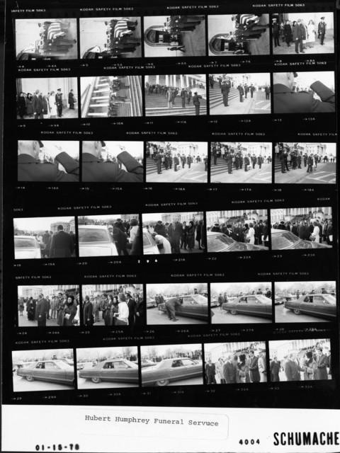 Hubert Humphrey Funeral Service