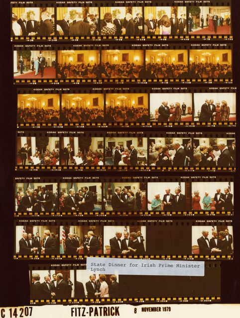 Jimmy Carter and Lillian Carter - State Dinner for Prime Minister John Lynch of Ireland