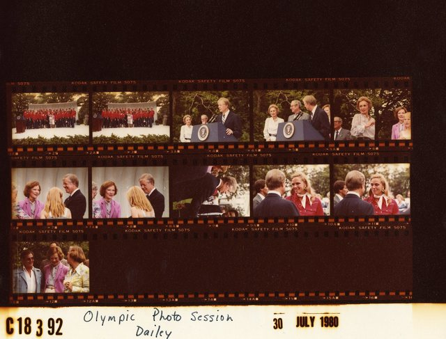 Jimmy Carter and Rosalynn Carter - Reception for the Summer Olympic Team