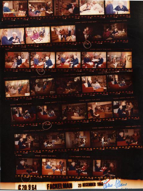 Jimmy Carter, Rosalynn Carter, Amy Carter, Billy Carter and family - Christmas at Lillian Carter's house