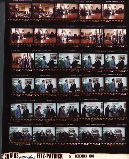 Jimmy Carter - Signing ceremony for H.R. 7756, the Omnibus Reconciliation Act of 1980, Fr. 5-15; With Senator George Mitchell, Senator Ernest Hollings, Senator Pete V. Dominici, Senator Henry L. Bellmon, Fr. 16-34