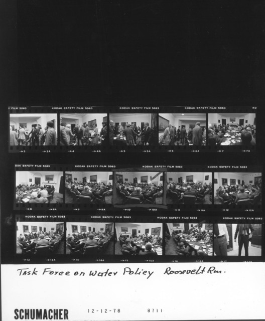 Jimmy Carter - Task Force on Water Policy in Roosevelt Room