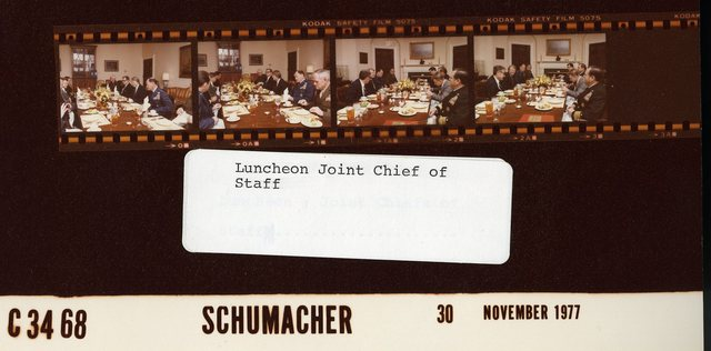 Luncheon Joint Chief of Staff