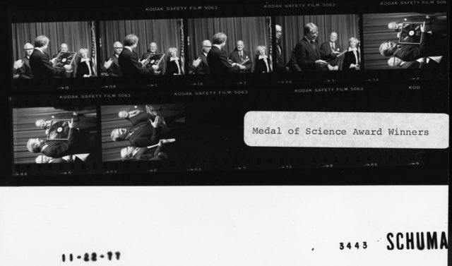 Medal of Science Award Winners