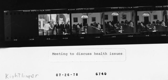 Meeting to discuss health issues