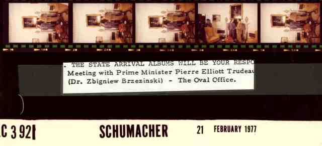 Meeting with Prime Minister Pierre Elliott Trudeau (Dr. Zbigniew Brzezinski) -- The Oval Office