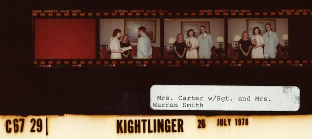 Mrs. Carter with Sgt. & Mrs. Warren Smith