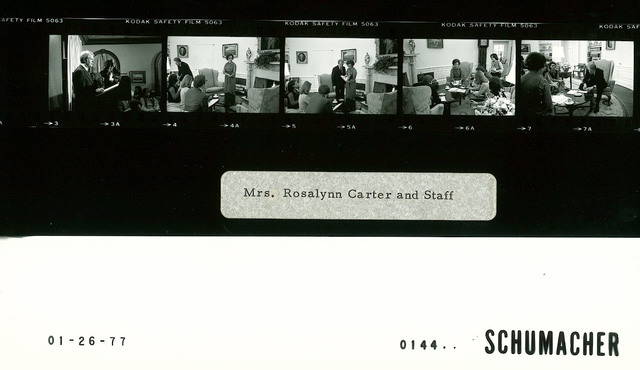 Mrs. Rosalynn Carter and Staff