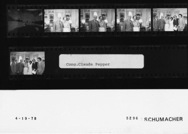 Rosalynn Carter, Congressman Claude Peppper
